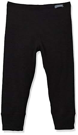 Odlo Kinder Jungen Pants Warm Kids, Black, 116, 10419