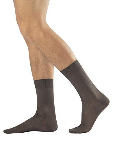 Calcetines lisos para hombre