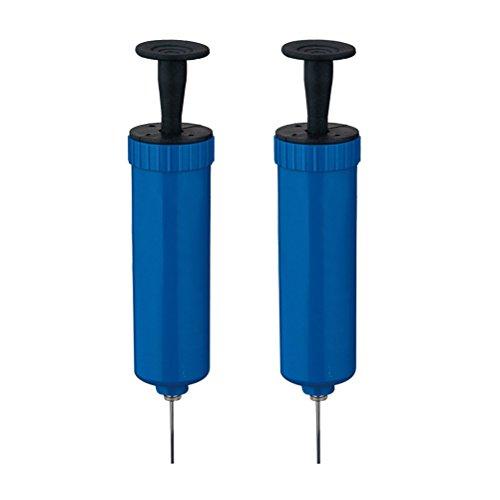 WINOMO 2Teile der Pumpe infladora Basketball Bälle mit gasing Nadel machen der Eimer die Belüftung des Gas Pumpen des Volleyball (blau)