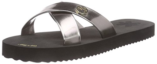 flip*flop  original cross metallic, Sandales ouvertes femmes Multicolore - Mehrfarbig (000)