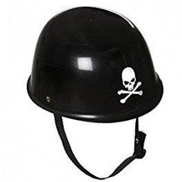 Widmann 03305 Motorradhelm aus Hartplastik für Erwachsene, schwarz