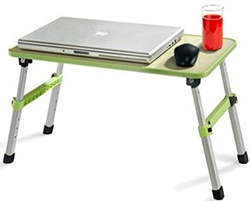 Shopper52 Height Adjustable Foldable Multi-Function Portable Laptop Table Study Table...