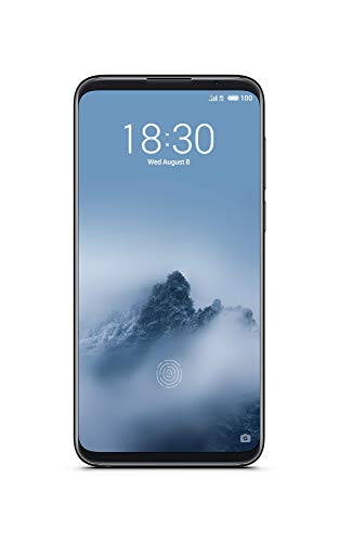 Meizu 16th Smartphone 6 Zoll SUPER AMOLED Display (8GB + 128GB, Midnight Black) - Dual-full Metal