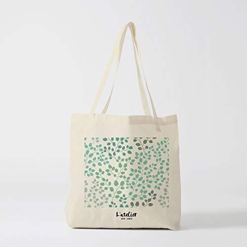Rami Tote Diaper bag shopping bag borsa ovviamente Nature Leaf pane borsa