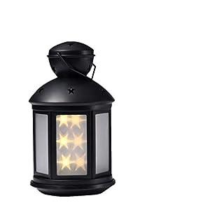 WYFDM Camping Outdoor Nachtlicht, LED Nachtlampe 3D Baby Kinderzimmer Dekor Geschenk Nacht Outdoor Camping,Black