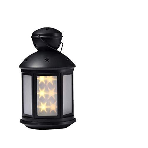 WYFDM Camping Outdoor Nachtlicht, LED Nachtlampe 3D Baby Kinderzimmer Dekor Geschenk Nacht Outdoor Camping,Black (Outdoor-camping-dekor)