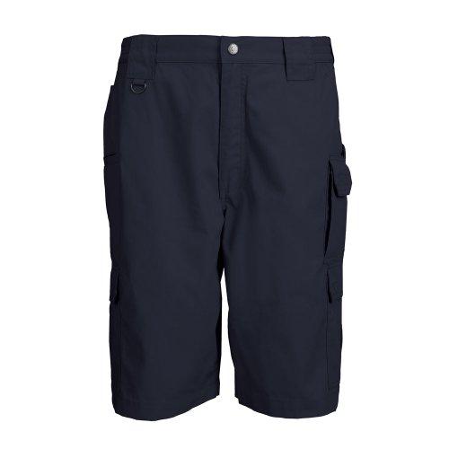 5.11 Tactical Herren Taclite Pro 27,9 cm Shorts, leicht, Verstellbarer Taillenbund, Style 73308, Damen Herren, Dunkles Marineblau, 36 - Utility-jeans-arbeit Jean