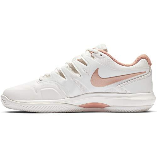 Nike Damen W Air Zoom Prestige Cly Tennisschuhe, Mehrfarbig (Phantom/MTLC Red Bronze 066), 39 EU (Prestige Nike)