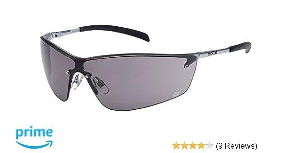 EN 166 Sichtscheibe grau Bügel: Metall Schutzbrille bollé SILIUM Rahmen u