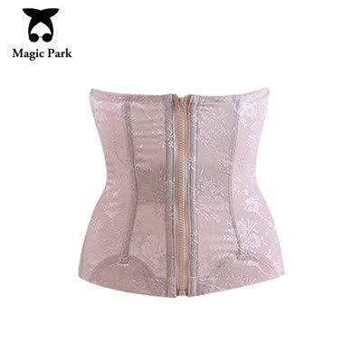 S-XXXL Mesh Women Waist Cincher Corset Zipper Hooks Waist Cincher Body Shaper Breathable Waist Tummy Control Shapewear