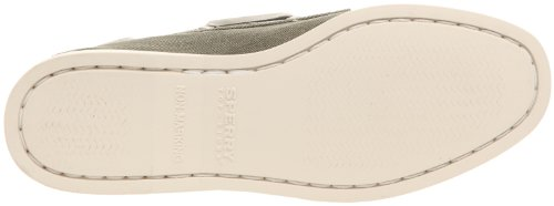 Sperry Top Sider A/O 2-Eye Canvas , Chaussures bateau femme Olive