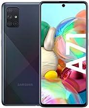 Samsung Galaxy A71 (16.95cm (6.7 Zoll) 128 GB interner Speicher, 6 GB RAM, Dual SIM, Android, prism crush Schw