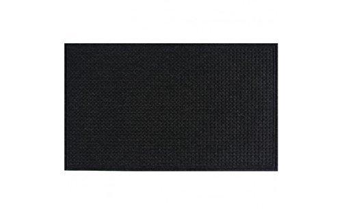 Apache Mills Squares Mat, Onyx, 2-Feet by 3-Feet by Apache Mills -
