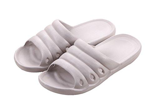Auspicious beginning Mignon chaussons couleur bonbon Sandale intérieure pour adultes Gris