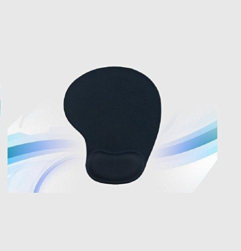 kuyia Silikon Gel Handgelenkstütze Mauspad Matte für Laptop Desktop Unterseite aus rutschfestem Gummi (Gummi-unterseite Weiche)