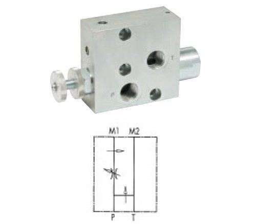 Preisvergleich Produktbild flowfit 3-Port Flow controlvalve überschüssige totank flangeable Danfoss Motoren OMP/OMR V1121