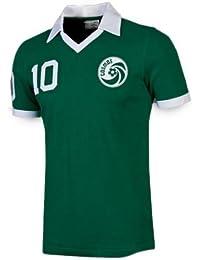 Umbro Cosmos New York - Camiseta retro de Pelé, color verde, XL, ...