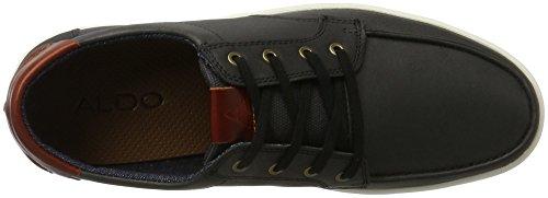 Aldo Ciren, Scarpe da Ginnastica Basse Uomo Nero (97 Black Leather)