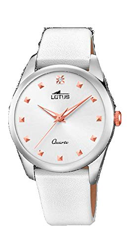 Lotus Trendy Watch Woman White 35 mm Leather Strap 18642/1