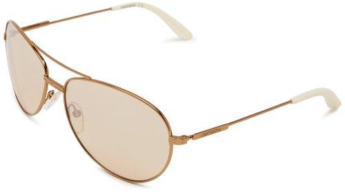 Carrera Ca69s, Gafas de Sol Unisex Adulto, Oro/Marrón Claro (Ant Gold), 60 mm