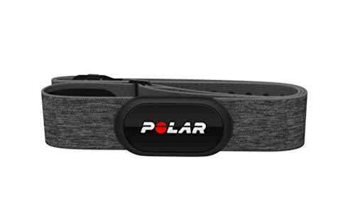 Sensor de frecuencia cardíaca Polar H10 + - Bluetooth, ANT +, ECG / EKG - Transmisor de frecuencia cardíaca impermeable con correa de pecho
