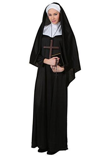 Plus Size Traditional Nonne Kostüm - 6X