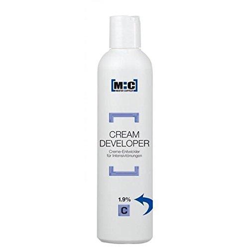 M:C Meister Coiffeur Cream Developer 1,9 C 1000 ml Creme-Entwickler für Intensivtönungen Creme 9