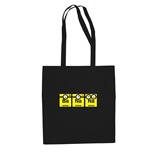Banana Chemistry - Stofftasche / Beutel, Farbe: schwarz