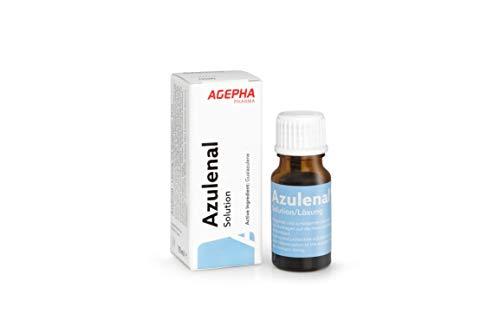 Azulenal Lösung Pflanzliche Behandlung von Entzündungen von Mundschleimhaut, Magen Darm Rollkur, Antibakteriell, Entzündungshemmend