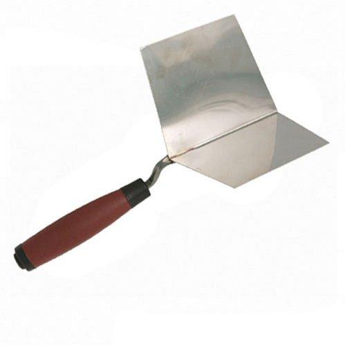 Silverline 675143 Innenseitige Eckenkelle mit Weichgriff, 127 mm