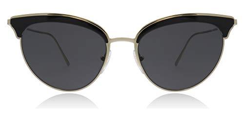 Ray-Ban Damen 0PR 60VS Sonnenbrille, Schwarz (Pale Gold/Black), 54