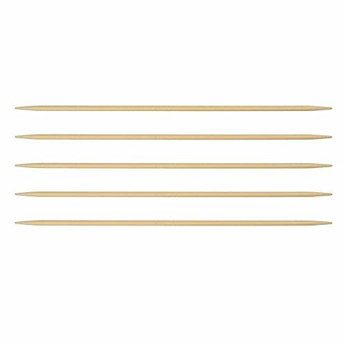 Strumpfnadel Bambus Länge 15 cm Stärke 3 mm Nadelspiel Strumpfstricknadeln Marke: LaLuna -