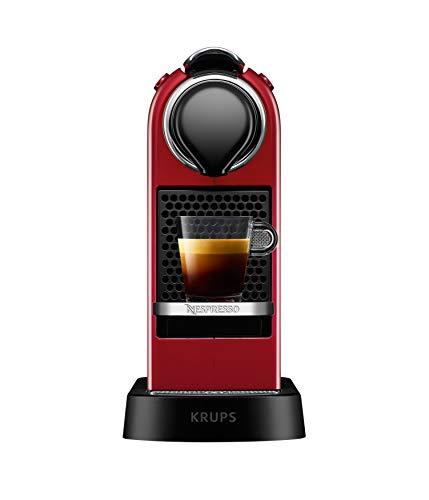 Krups XN7415 Kaffeemaschine Freistehend Rote Espressomaschine 1 Tassen