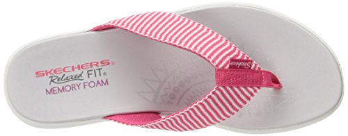 Skechers H2 Entspannt Fit Upgrades Sailin ' Rosa Sandalen Rosa