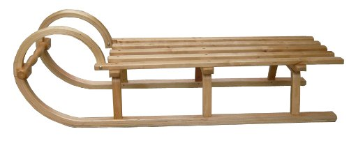FA sports de neige fASports tY-x005-115 cm, head round wooden sled, 927