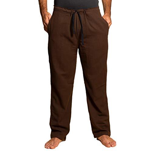 PANASIAM Pants,T01 in Brown, L