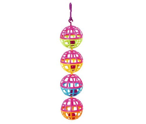 Karlie Ballkette aus 4 Bällen, Spielzeug für Vögel