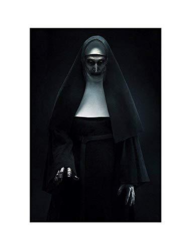 Weretlyop The Nun Movie The Conjuring Horror Remake Art Film Print Size 13x20 24x36 27x40 32x48 (13