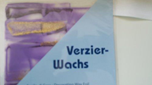 bastelkoerble Wachsplatten Glitter , violett/gold , 200 x 100 x 0,5 mm, 1 VE = 1 Platte,...