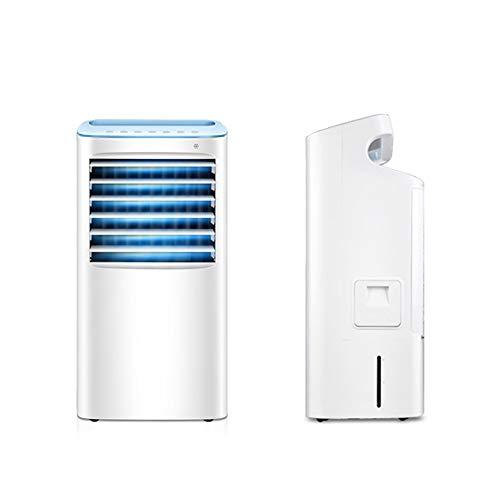 Kongtiaoshan Klimaanlage lüfter kühlschrank kleine klimaanlage schlafsaal luftkühler einzelkälte kleiner lüfter mobiles wasser klimaanlage (Color : White)