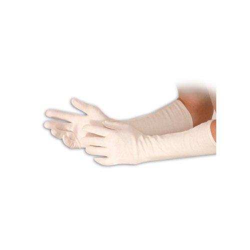 Hygrostar Baumwoll Schutzhandschuhe Extralang 45 cm - 12 Paar Packung