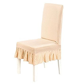 SODIAL(R) Dining Chair Covers Spandex Strech Dining Room Chair Protector Slipcover Decor