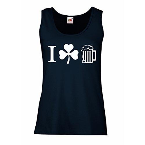damen-tank-top-the-symbols-of-st-patricks-day-irish-icons-small-blau-mehrfarben