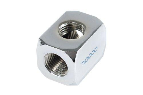 Preisvergleich Produktbild Alphacool 170291Stück (S)–Muttern Mutter, Messing, chrom, 21mm, 30mm, 21mm, 1Stück (S)
