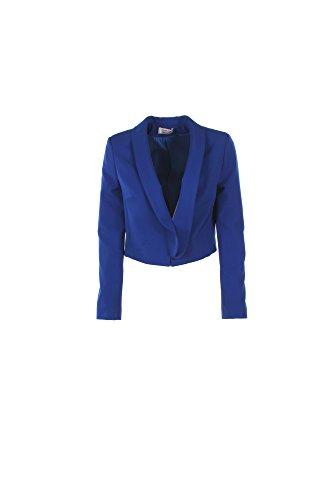 Giacca Donna Kaos Twenty Easy 44 Blu Hp3co001 1/7 Primavera Estate 2017