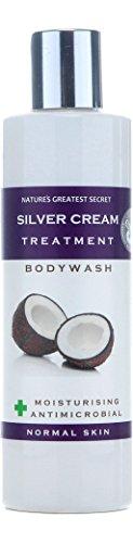 Nature's Greatest Secret Luxurious kolloidal Silver All Natural Antimikrobielle Silver Cream Bodywash mit Bio Kokosöl und einer ätherischen Ölmischung 250 ml - Antimikrobielle Seife