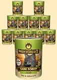 Wolfsblut Dark Forest ADULT Nassfutter für Hunde mit Wild und Süßkartoffeln (6 x 395g)
