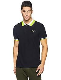Puma Men's Solid Regular Fit Polo