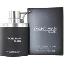 Yacht Man Black By Myrurgia Edt Spray 3.4 Oz