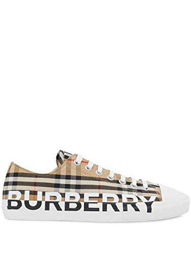 BURBERRY Luxury Fashion Herren 8024149 Beige Sneakers | Frühling Sommer 20